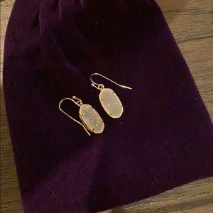 Lee Silver Drop Earrings